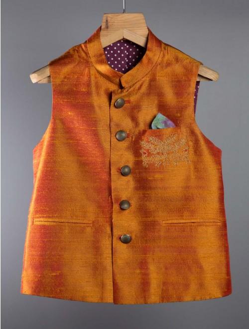 Silk Bandi (Narangi)
