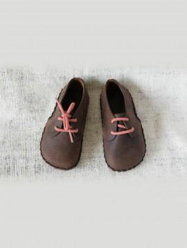 Lace-up Infant Shoes (Espresso)