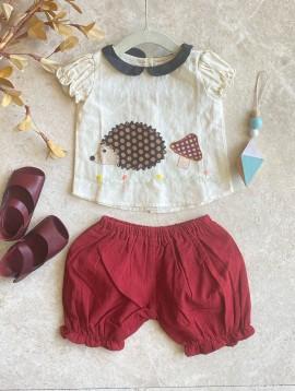 Hedgehog Baby Girl Set (Set of 2)
