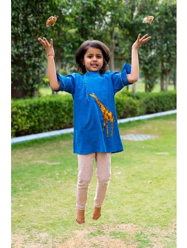 Giraffe Kurta (Girls)