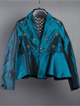 Peplum Jacket Teal